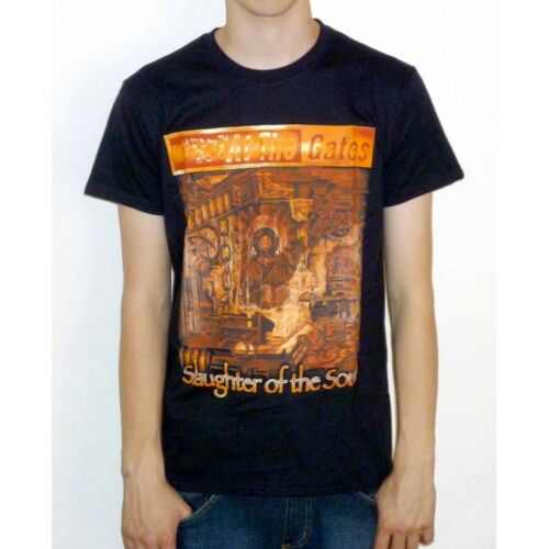 """At The Gates /""""Slaughter Of The Soul/"""" Classic T-shirt NEW OFFICIAL"""