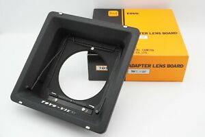 MINT-IN-BOX-Toyo-Linhof-recessed-lens-board-adapter-for-TOYO-4x5-from-Japan