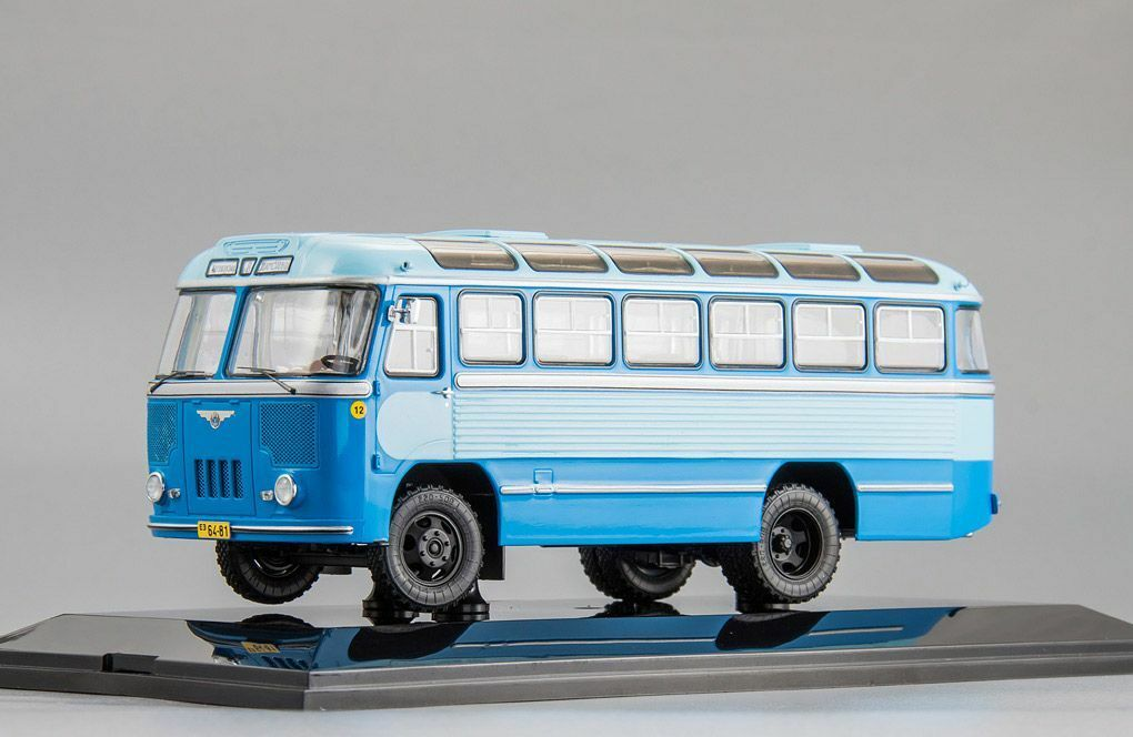 PAZ 652  Bus station Shamsiobod  1960 L.e. 300 pcs. 1 43 DiP Models 165211 NEW