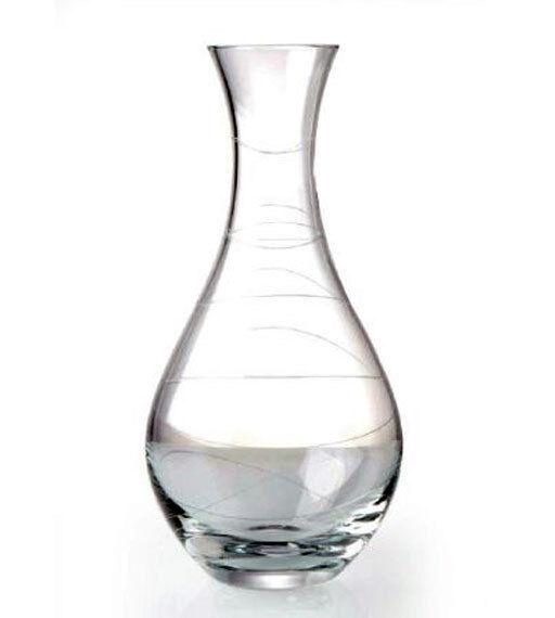 Nambe MOTUS (Cristal) vin Decanter-NEW BOX
