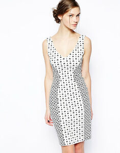 Connection French Occasion New Size Mosaic 12 Dress Modern Evening Bnwt 5AqadxxX