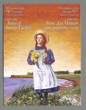 Canada 2008 piegato opuscolo-Anne dei verdi spioventi - (10 @ 52C) - completa MNH