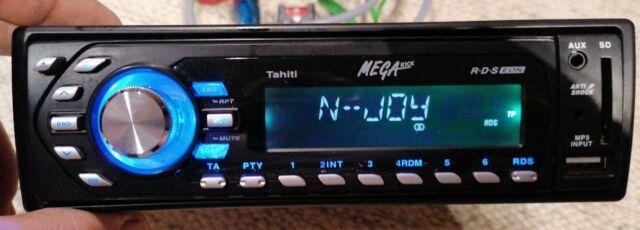 Autoradio RDS EON  Haiti MEGAKICK + USB + SD KARTE + AUX + Rahmen 1120050