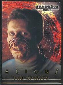 STARGATE SEASON 1-3 ALIENS CARD X9