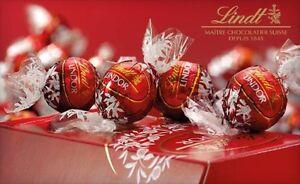 Image Is Loading 50 X Lindt Lindor Milk Chocolate Truffles Wedding