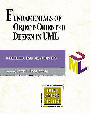 1 of 1 - Fundamentals of Object-oriented Design in UML by Meilir Page-Jones...