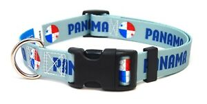Panama-Panamanian-World-Cup-Soccer-Dog-Collar-for-Small-Medium-Large-Dogs