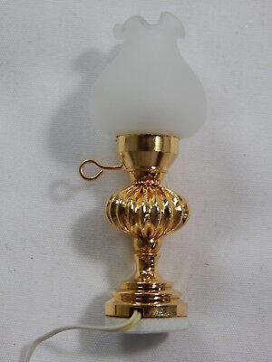 Heidi Ott Dollhouse Miniature Light 1:12 Scale Old fashion oil lamp #YL2092 FBA
