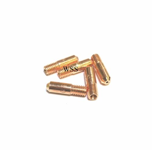 M5 Mig Welding Contact Tips 0.6mm 0.8mm and 1.0mm x 18mm Long /& Gas Nozzles