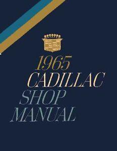 1965-Cadillac-Service-Shop-Repair-Manual-Book-Engine-Drivetrain-Electrical-Guide