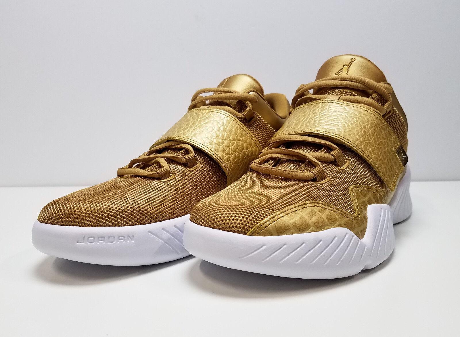 NIKE Air Jordan Men's J23 Cross Training shoes 854557-700 Metallic gold NWOB