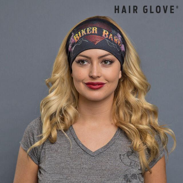Buy Hair Glove EZ Bandz Biker Babe Butterfly W red   Silver Foil ... 0f34128e6ec