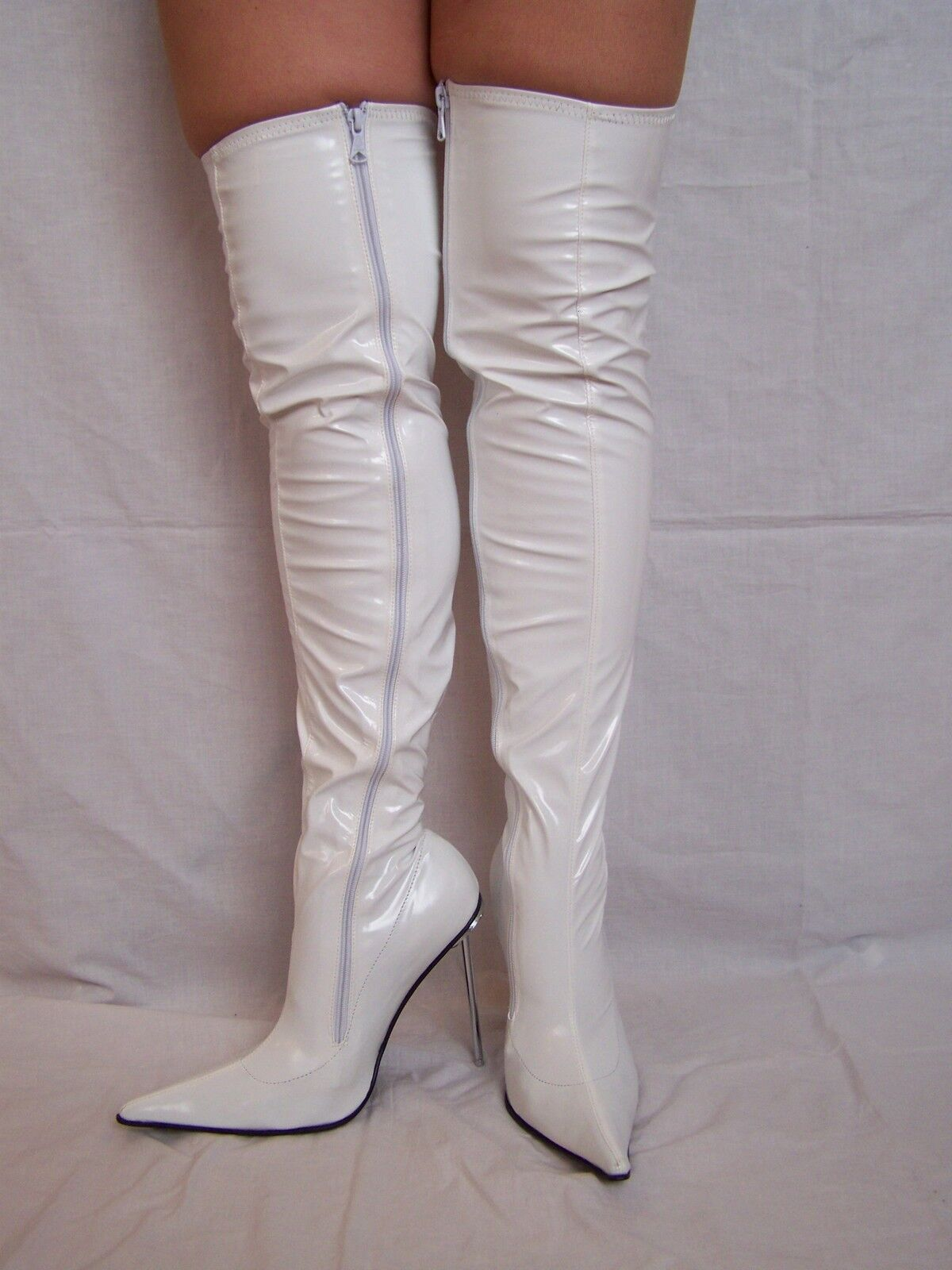 High heels, stiefel latex gummi -Größe 35-47 35-47 35-47 producer -Polen FASHION STYLE 904940