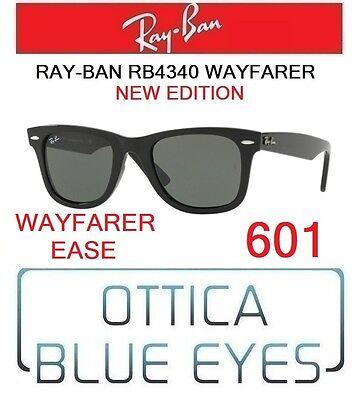 Occhiale da sole ray ban rb 4340 wayfarer ease (601) ottica