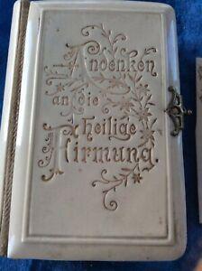 Decorative Arts Antiques Gentle Antique Austrian Jugendstil Praying Book Bakelite Bronze 4 Confirmation Hot Sale 50-70% OFF
