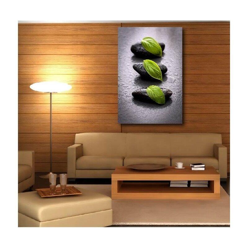 Canvas Fabric Deco Rectangle greenical Pebble Leaf 13258388