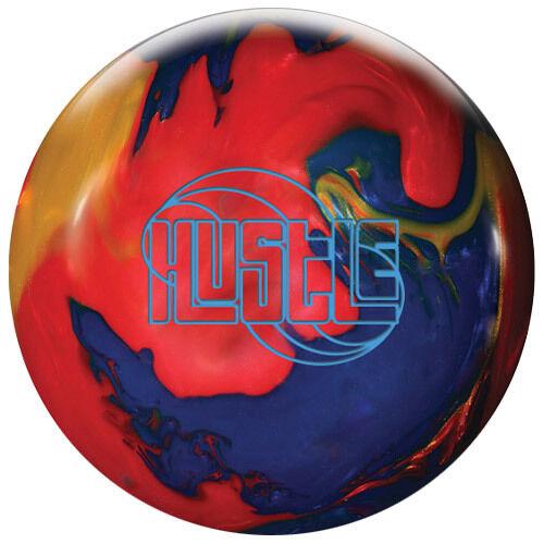redo Grip Hustle Bowling Ball NIB 1st Quality Red Indigo gold