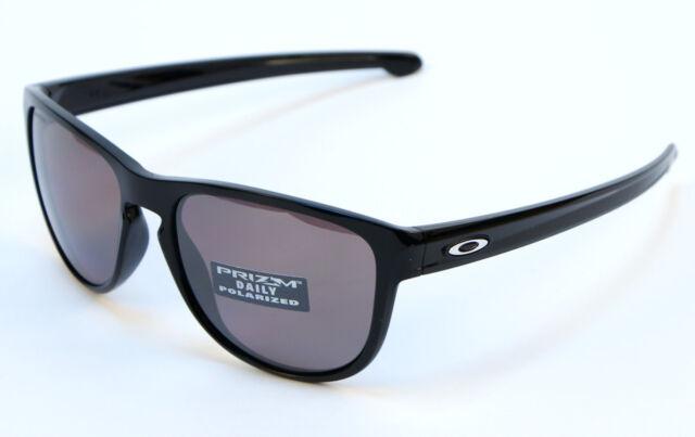 9fadf43b1b814 Oakley Sliver R POLARIZED Sunglasses OO9342-07 Polished Black W Prizm Daily  Lens