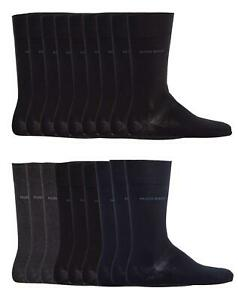 9-Pair-HUGO-BOSS-Men-039-s-Socks-Business-Casual-Rs-Sp-Uni-Choice-of-Colour