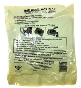 Image Is Loading Military Surplus Wag Bag Waste Kit Personal