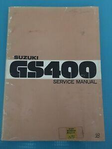 1976-Suzuki-GS400-Service-Repair-Manual-OEM-Vintage