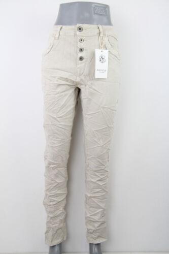 Karostar Damen Hose Baggy Jeans Chino Boyfriend Big Size Übergröße 38-48 K358-14