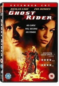 Ghost-Rider-Extended-Cut-DVD-2007-Very-Good-DVD