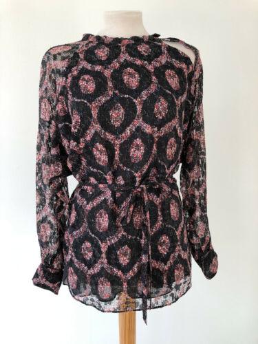 Bluse Neuwertig franz top Gr 36 38 print Ikat Marant Deutsche Isabel 1qwx6H5