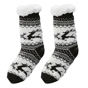 Christmas Fuzzy Socks.Details About Fuzzy Slipper Socks Soft Warm Cute Cozy Fluffy Winter Christmas Slipper Socks