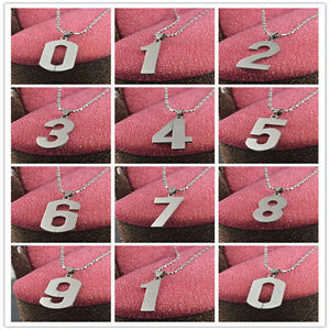 New-Stainless-Steel-Chain-Number-Pendant-Necklace-Charms-Colorfast-figure-0-9