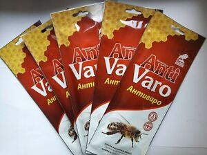 RIY  treatment of varroatosis bees Varroa Imker 5 x10 Strips FLUMET Beekeeper
