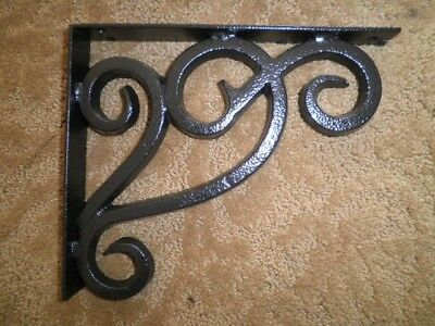 SOCI BLACK IRON WORKS CORBEL GRANITE QUARTZ COUNTERTOP SHELF SUPPORT CB007S