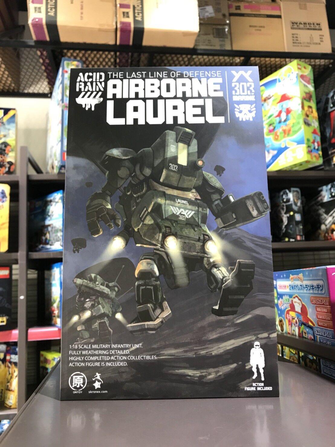 [W.H]MISB 50695 ORITOY Acid Rain World Laurel Airbourne 3.75 1 18 Action Figures