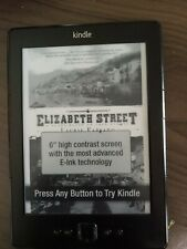 Amazon Kindle 4th/5th Generation 2GB WiFi 6in. D01100 Gray eReader DEMO AS IS