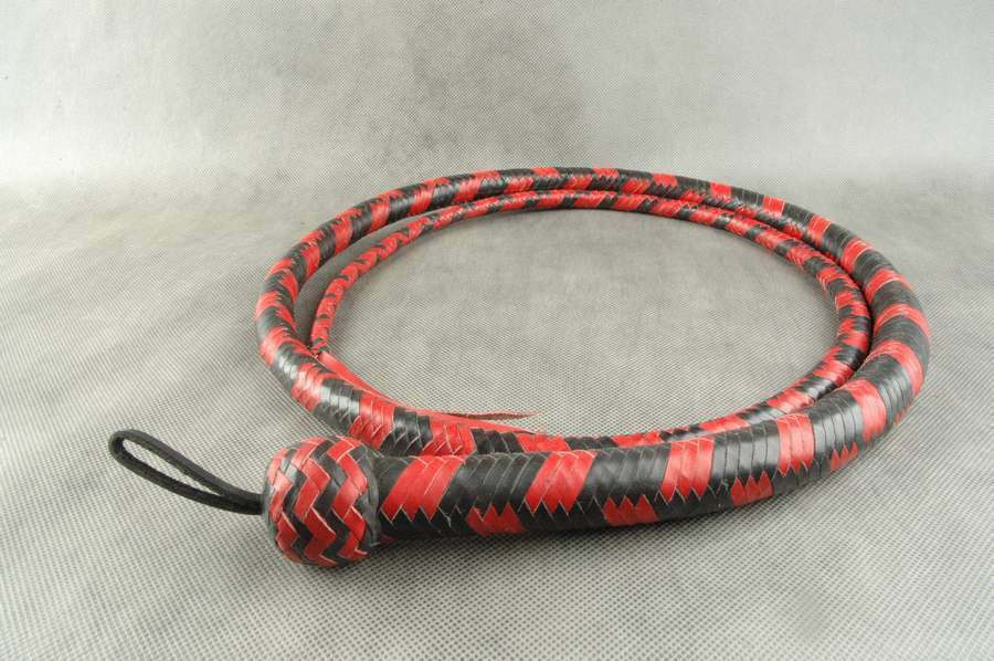 Genuine Leder Bull whip whip whip flogger crop f96885