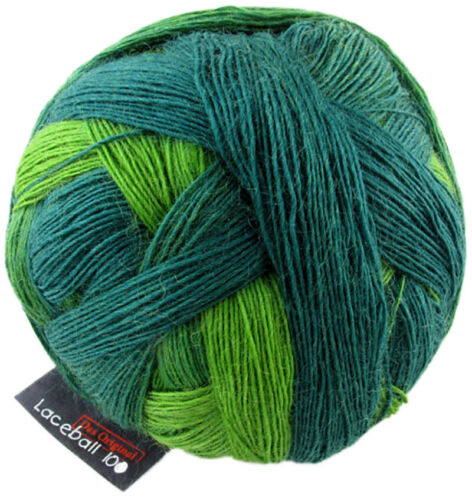 Laceball 100 Schoppel 100g  traumhaftes Lacegarn Farbe 2168 Evergreen