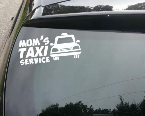 Mums Taxi Service Car//Window JDM VW EURO DUB DRIFT Vinyl Decal Sticker