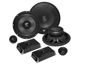 Hifonics-Lautsprecher-VX6-2C-400W-16-5cm-fuer-Opel-Zafira-Tourer-ab-2012