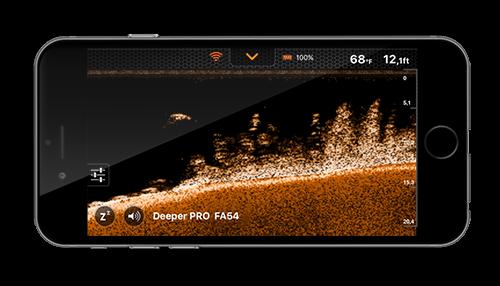 Deeper Smart Sonar Pro + Case XL Wifi Echolot Echolot Echolot Fishfinder Auswerfen & Stiefel eb4c4c