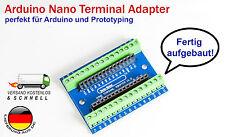 Arduino Terminal Adapter Modul für Arduino Nano V3 AVR Atmega 328P Prototyping