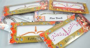 1-Pack-Indian-Bridal-Forehead-Bindi-Dots-Bollywood-Stickers-Tattoo-Jewels-Body