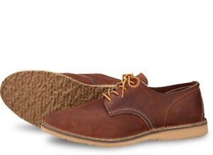 Details zu Red Wing Herren Schuhe 3306 Oxford Weekender Sammlung Rot Ahorn Rot