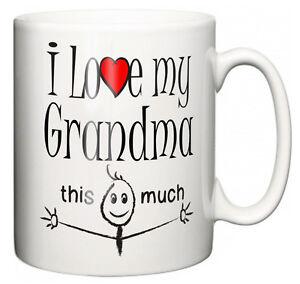 DIVERTENTE-NONNA-Mug-034-I-love-my-Grandma-This-MOLTO-034-te-caffe-tazza-Granny