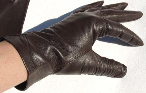 Ladies Dk Ruff Kaiser Guanti 6 braun 5 Senza fodera Leather Finger FKc53uT1lJ