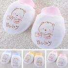 Cute Baby Newborn Anti scratch Mittens Soft Breathable Gloves Unisex Warm Cotton