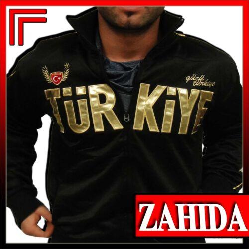 Jogging Jacke Turkey Türkei Türkiye Chile Glanz Lack-Leder-Look S M L XL XXL NEU