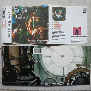 Details About Pearl Jam 3 Cds Yield Cd Oceans Mcd Live Pinkpop 1992 Nothing As It Seems