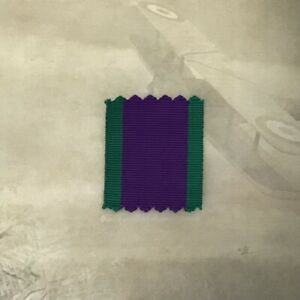 General Service Medal 1962 Onward Ribbon - 1 x Meter | ARMY | RAF | NAVY