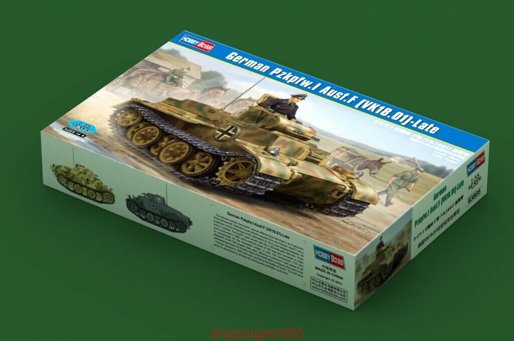 Hobbyboss Model Kits 1 35 83805 German Pz.Kpfw.I Ausf.F (Vk18.01) Late
