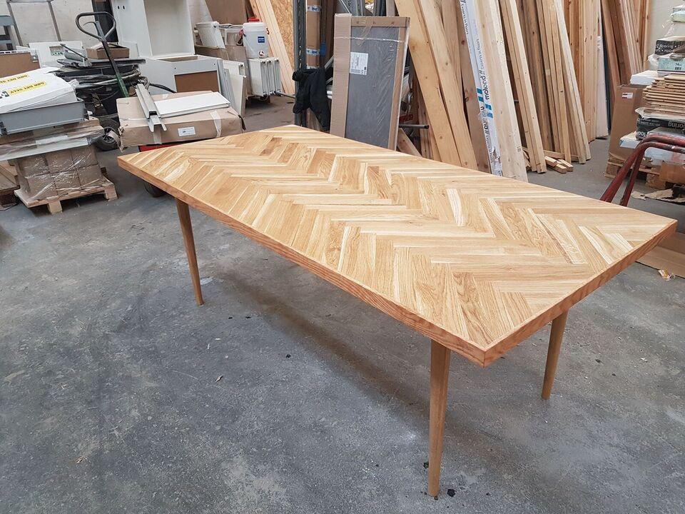 Spisebord, Sildebensbord, Håndlavet